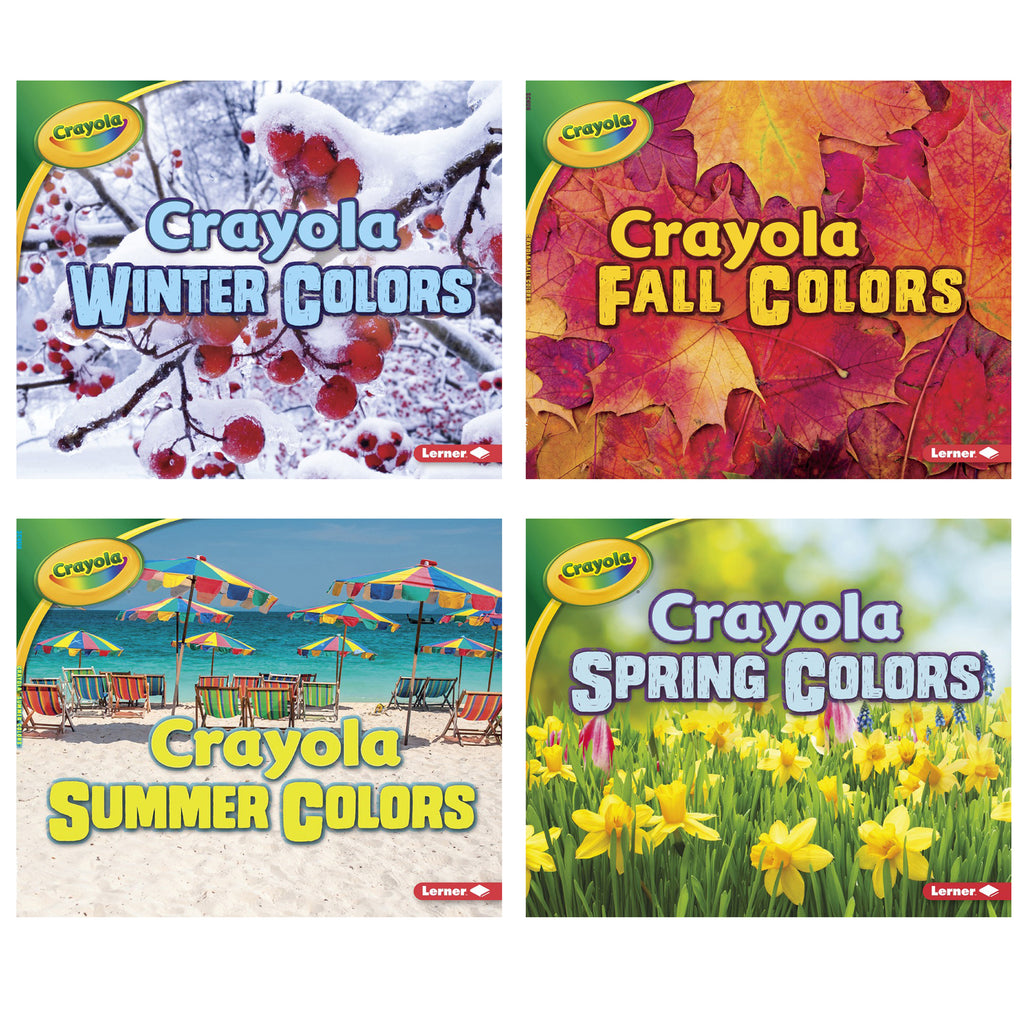 Lerner Publications Crayola® Seasons, Set of 4 Books