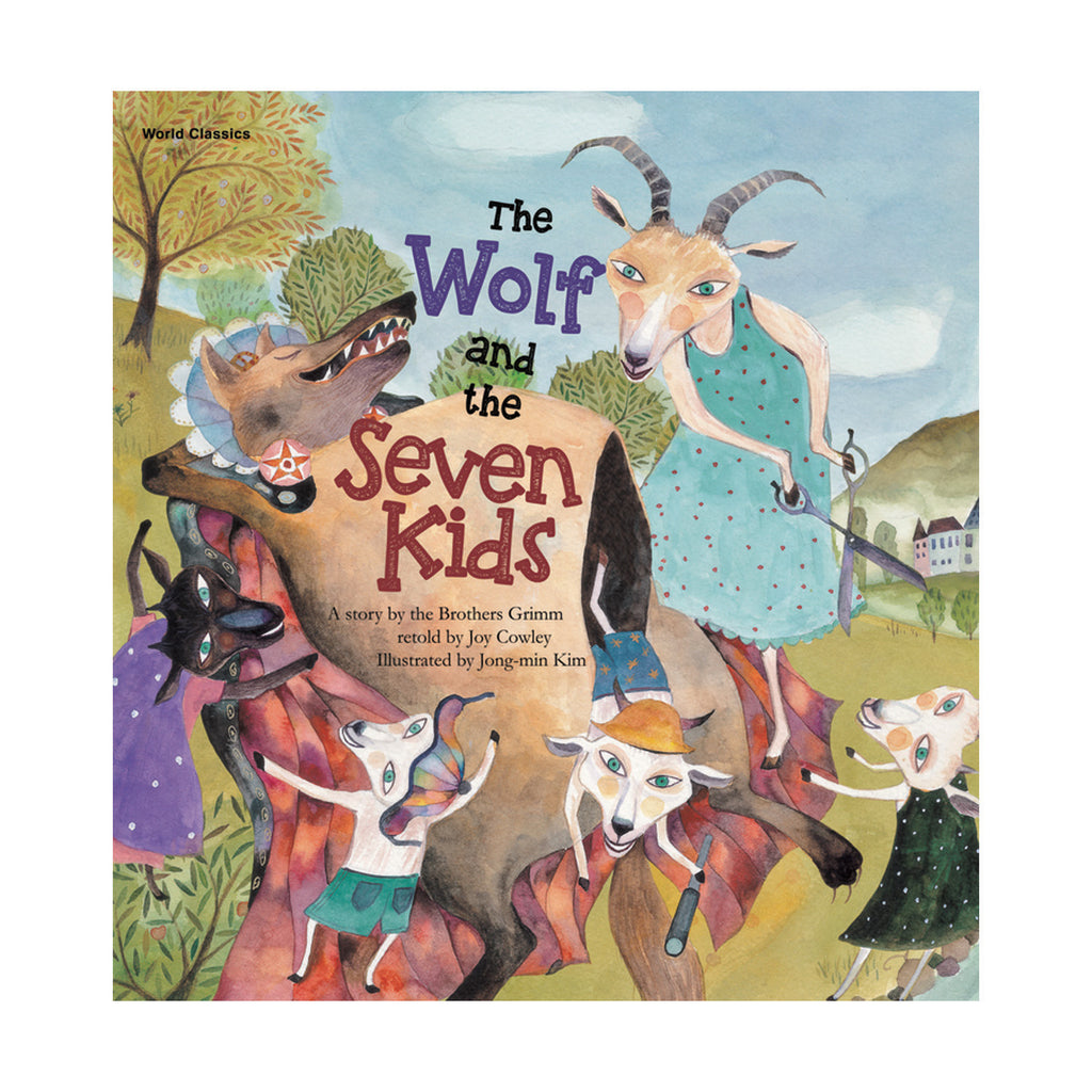 Lerner Publications The Wolf and the Seven Kids, Paperback