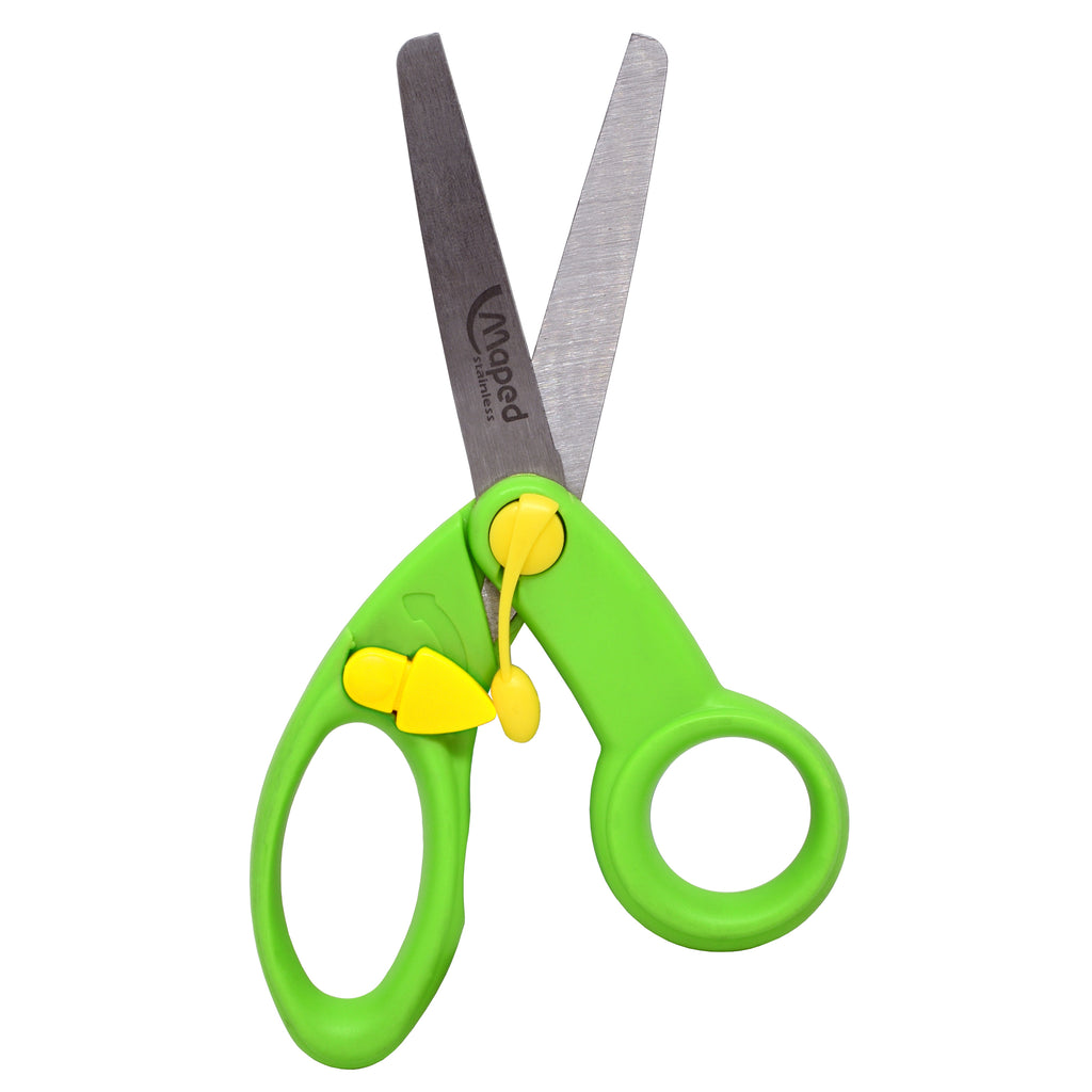 "Maped 5"" Koopy Spring-Assisted Educational Scissors, Classpack"