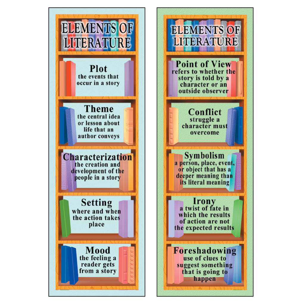 McDonald Publishing Elements Of Literature Smart Bookmarks