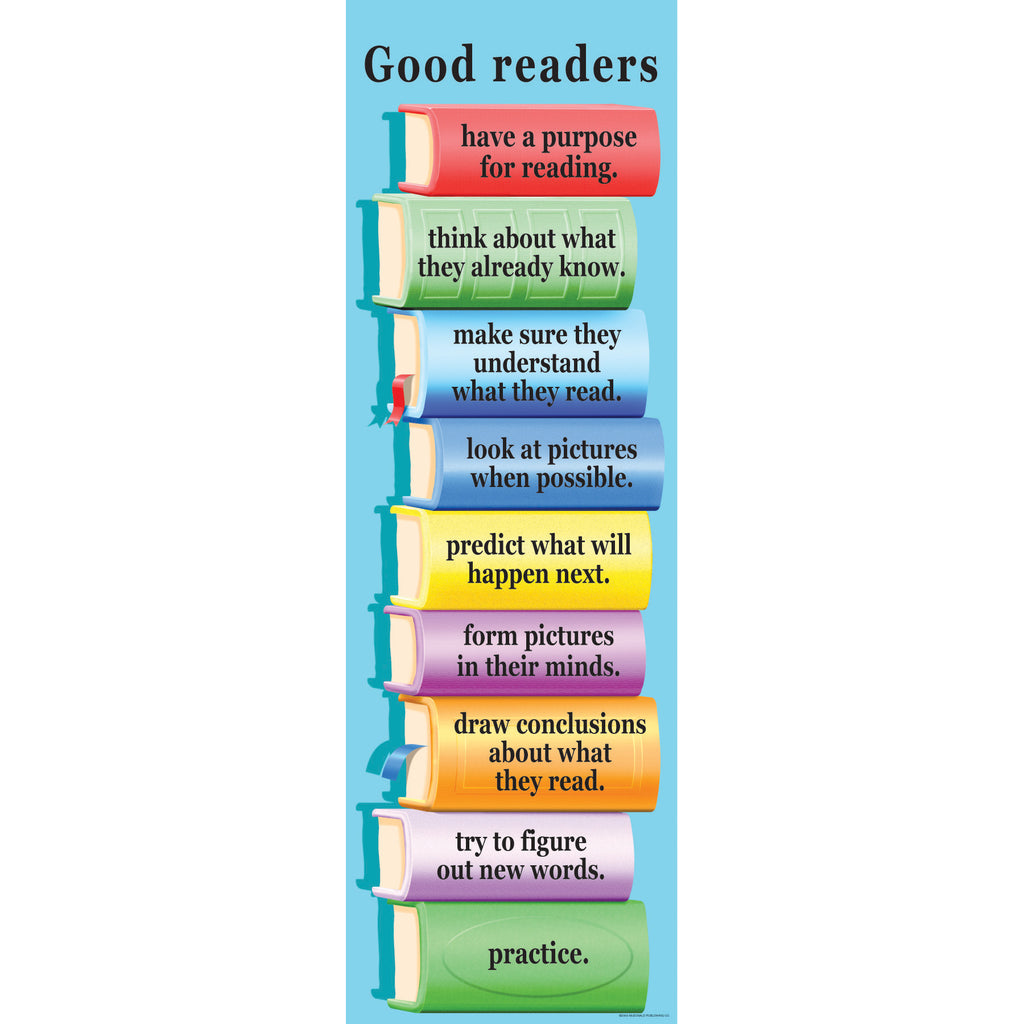 McDonald Publishing What Good Readers Do Colossal Poster