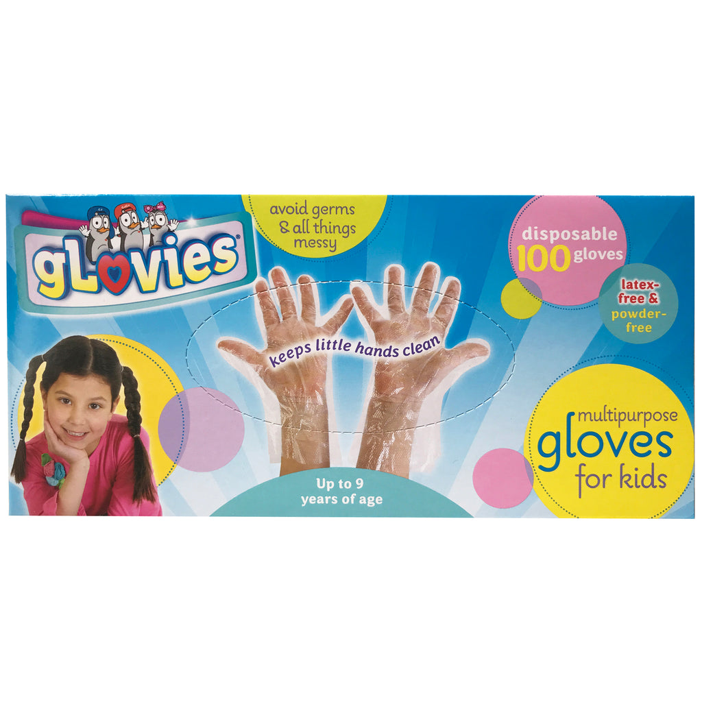 My Mom Knows Best Glovies: Multipurpose Gloves for Kids (100 Count)