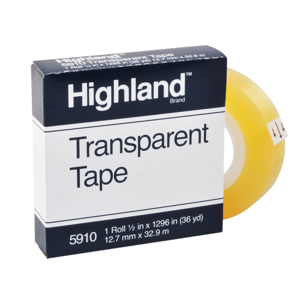 3M Tape Highland Transparent