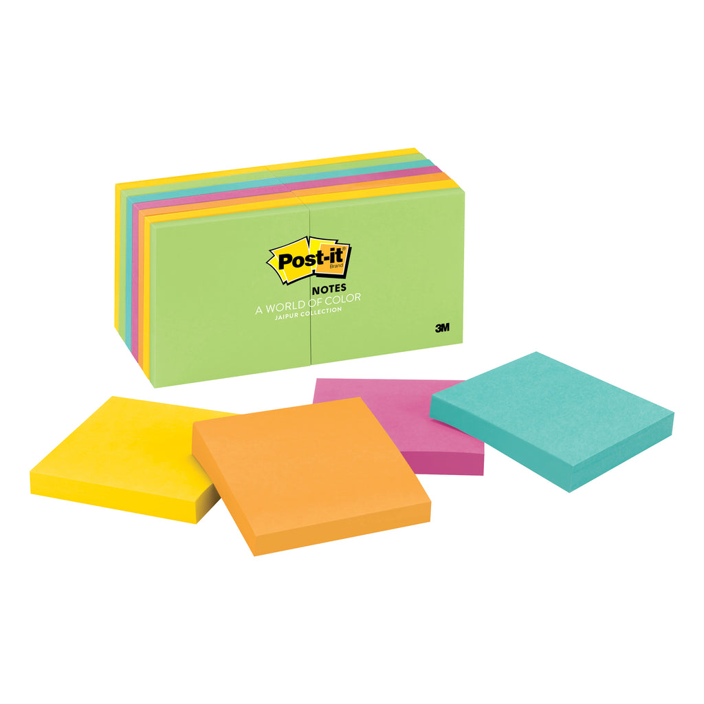3M Post-It Notes In Ultra 14 Pads Colors