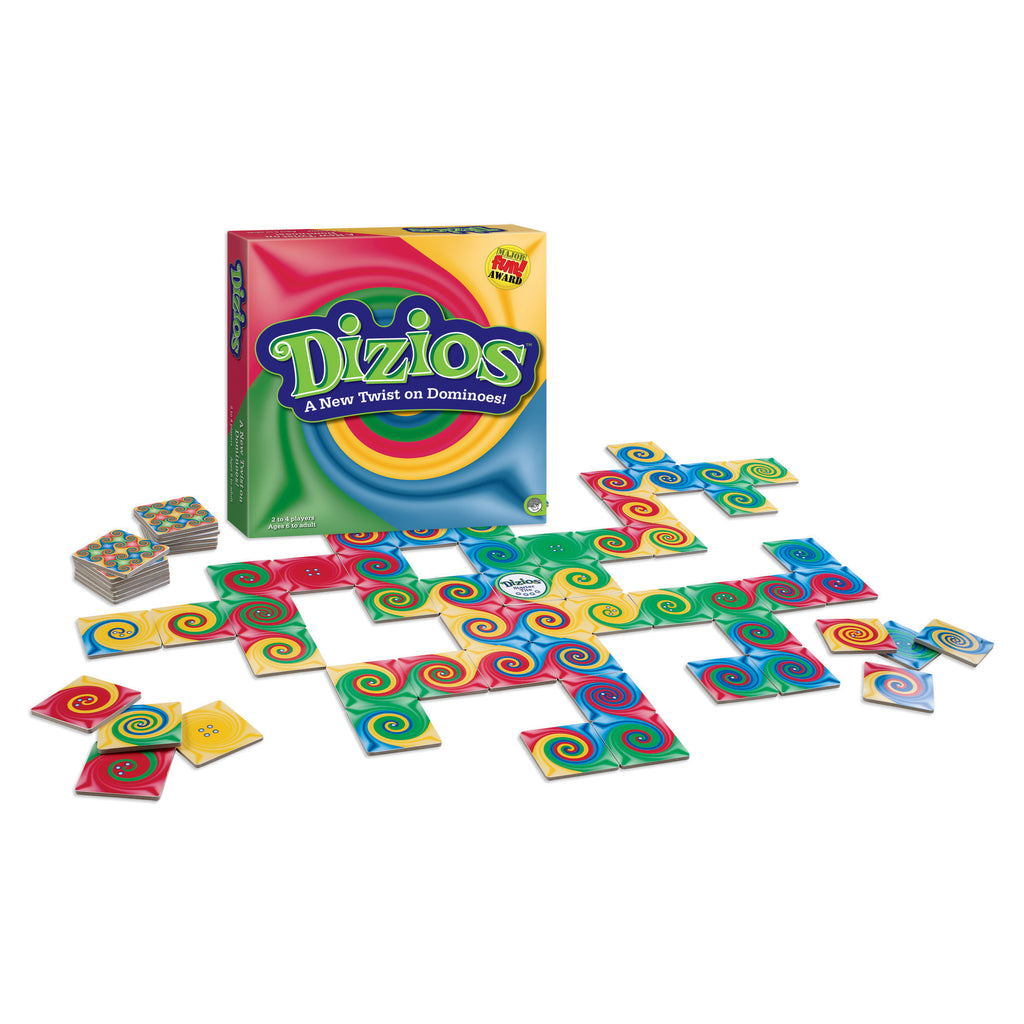 Mindware Dizios A New Twist On Dominoes Game