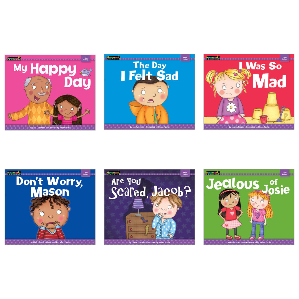 Newmark Learning MySELF Theme: I Have Feelings, Set of 6 Books