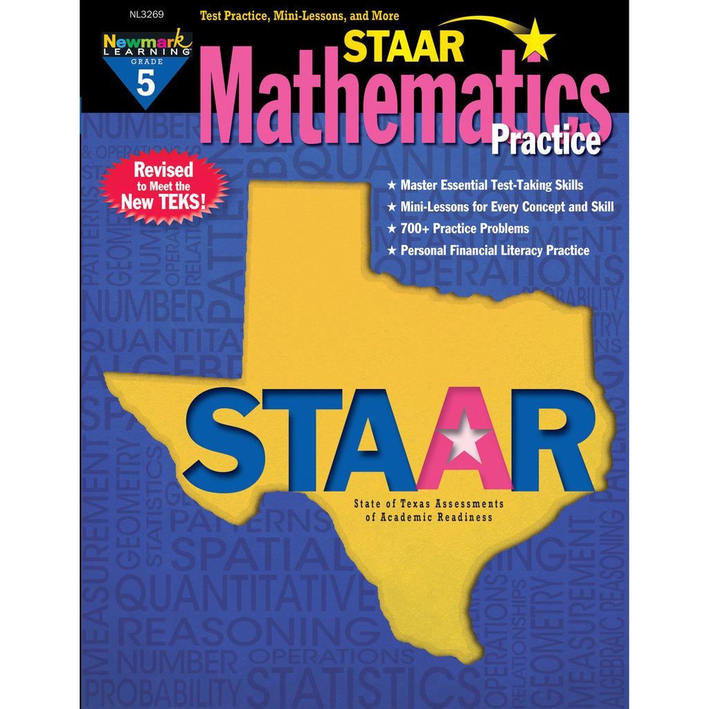 Newmark Learning STAAR Mathematics Practice, Grade 5