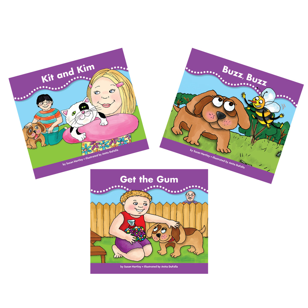 Newmark Learning Decodable Readers Bag Set