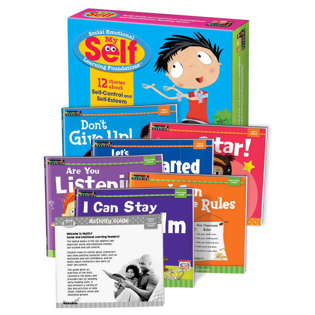 Newmark Learning Myself: Self-Control and Self-Esteem Early Readers Boxed Set