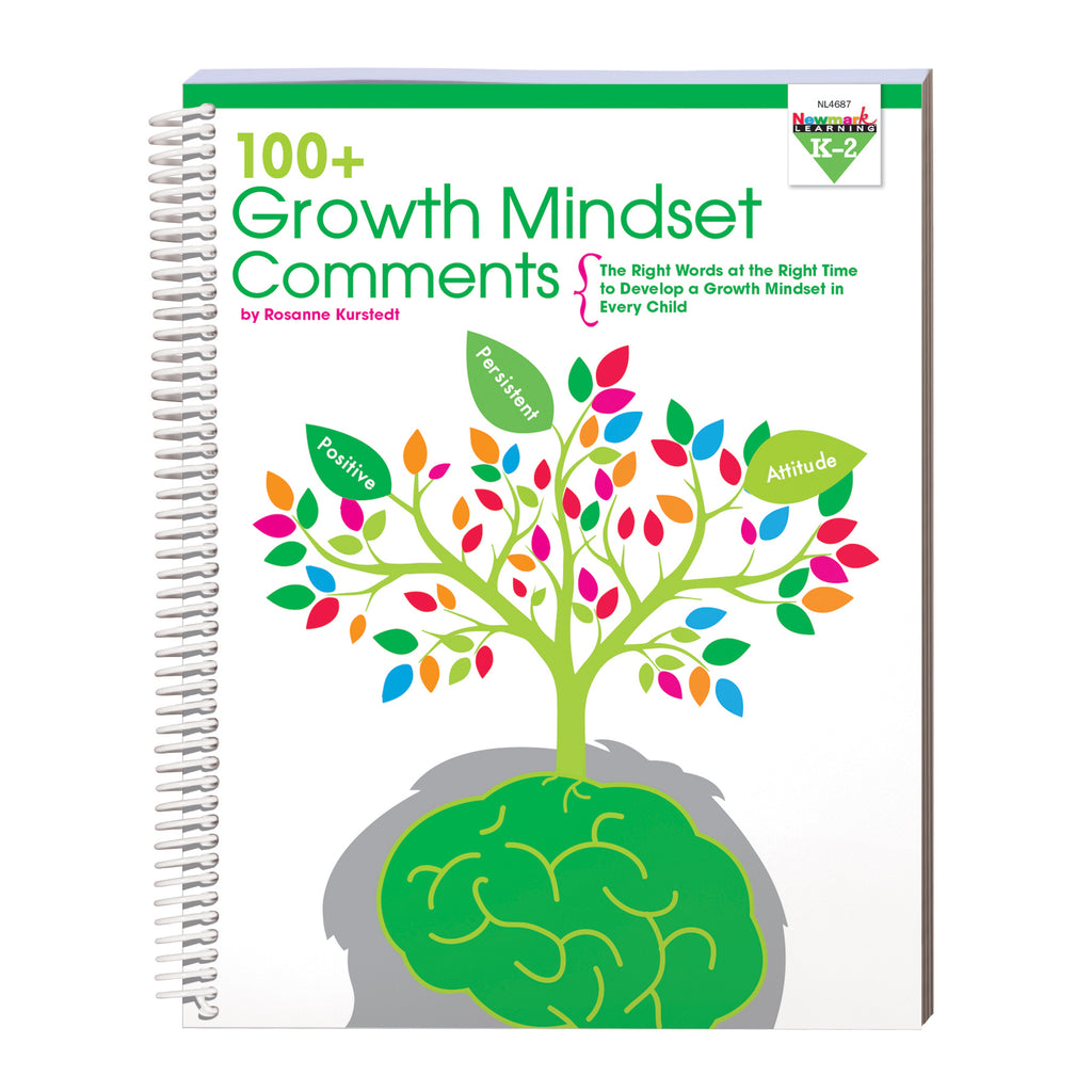 Newmark Learning 100 Growth Mindset Comments: Grades K-2