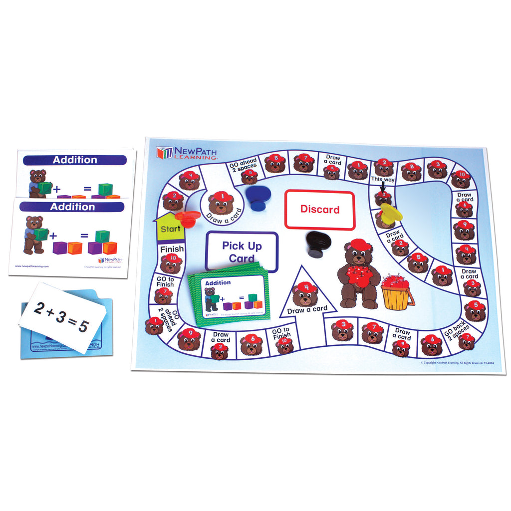 New Path Learning Learning Center: Number Operations - Addition, Grades K-1