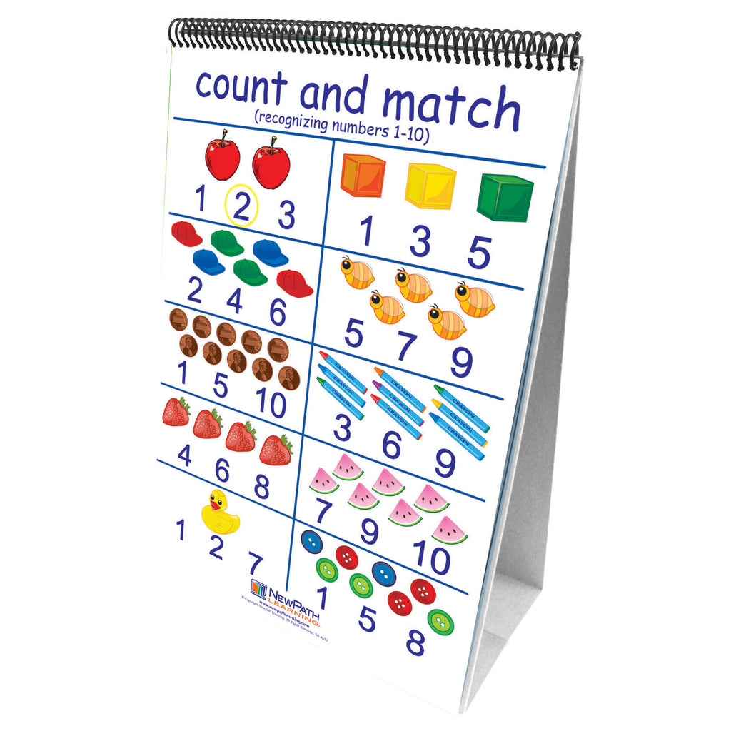 New Path Learning Number Sense 10 Double Sided Curriculum Mastery Flip Charts