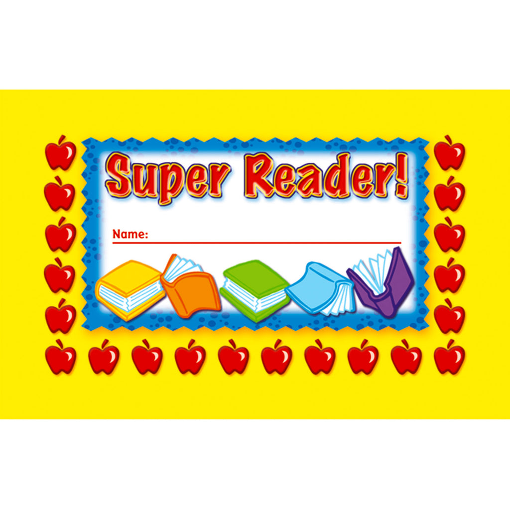 North Star Teacher Resources Super Reader! Punch Cards