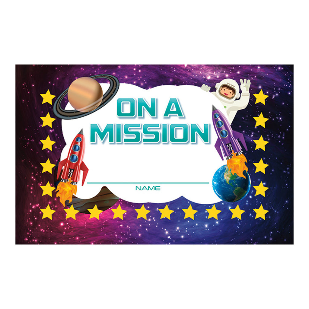 North Star Teacher Resources On a Mission Punch Cards