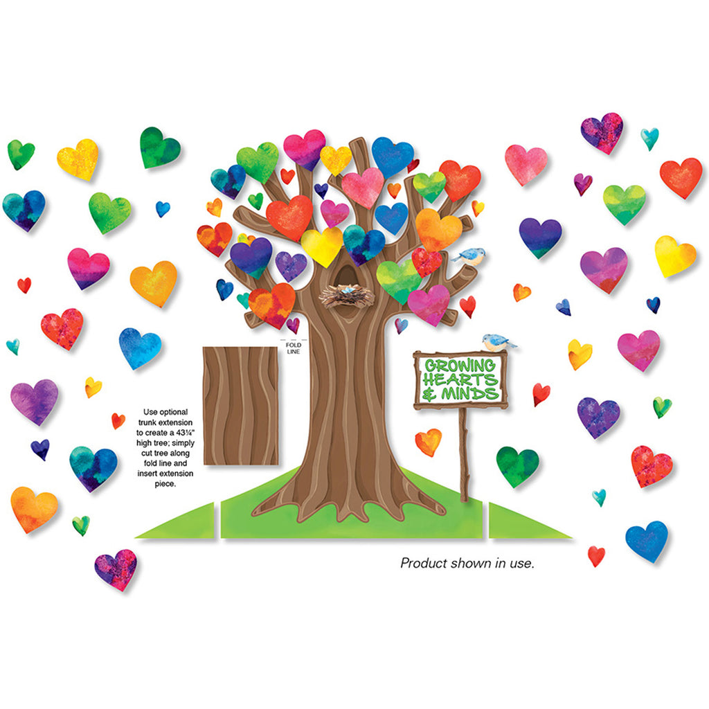 North Star Teacher Resources Growing Hearts and Minds Bulletin Board Set