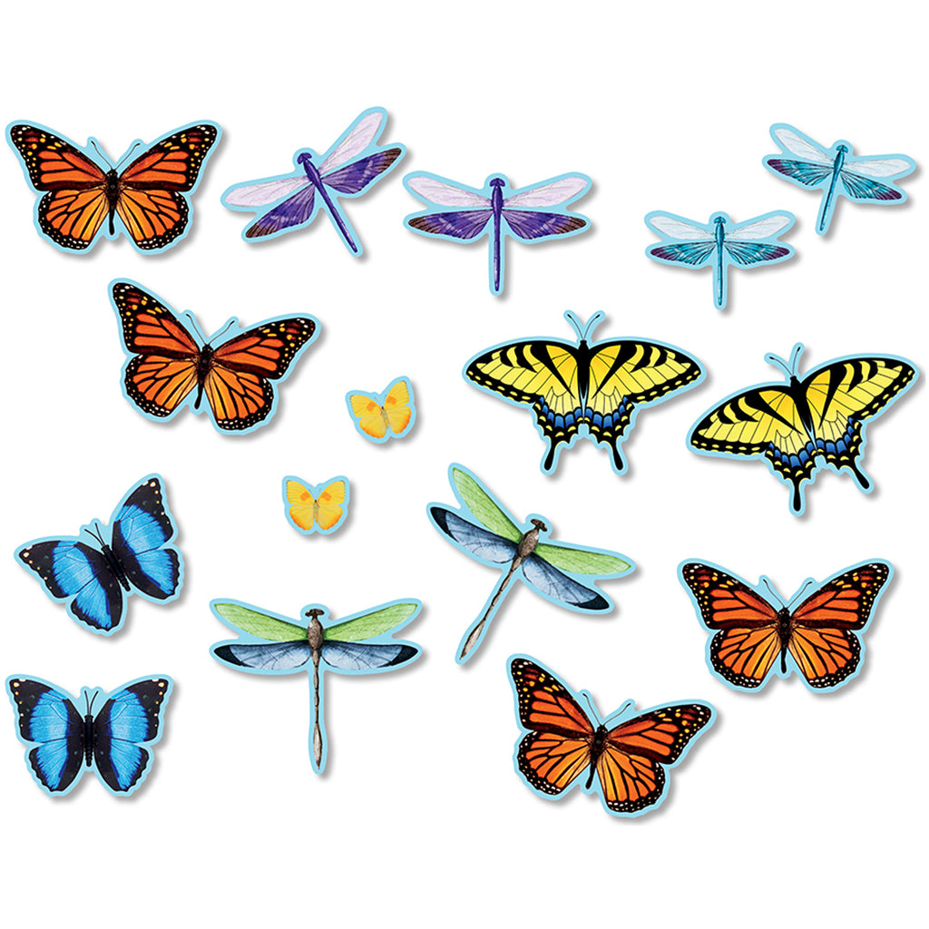 North Star Teacher Resources Butterflies & Dragonflies Accents