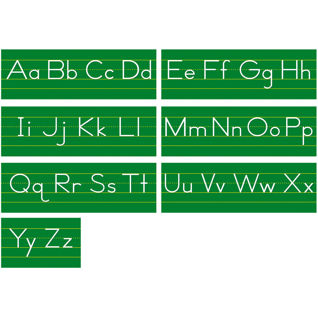 North Star Teacher Resources Alphabet Lines - Traditional Manuscript