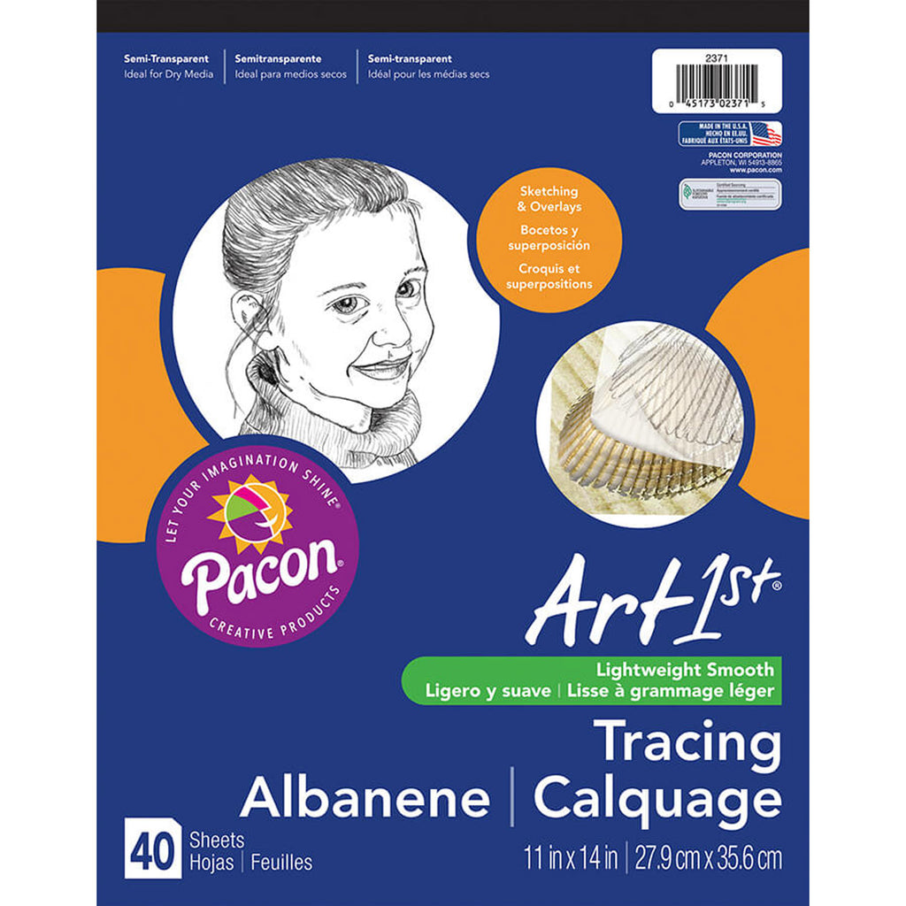 "Pacon Art1st® Tracing Pads, 11"" x 14"", 40 Sheets"
