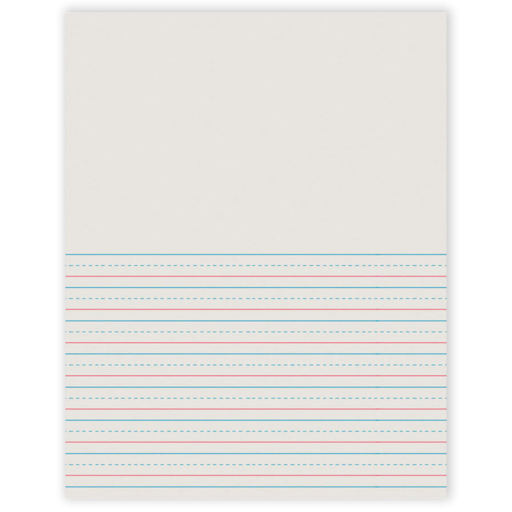 Pacon Writing Paper 50 Sheets 8.5 x 11 1/2 Inch Rule Short
