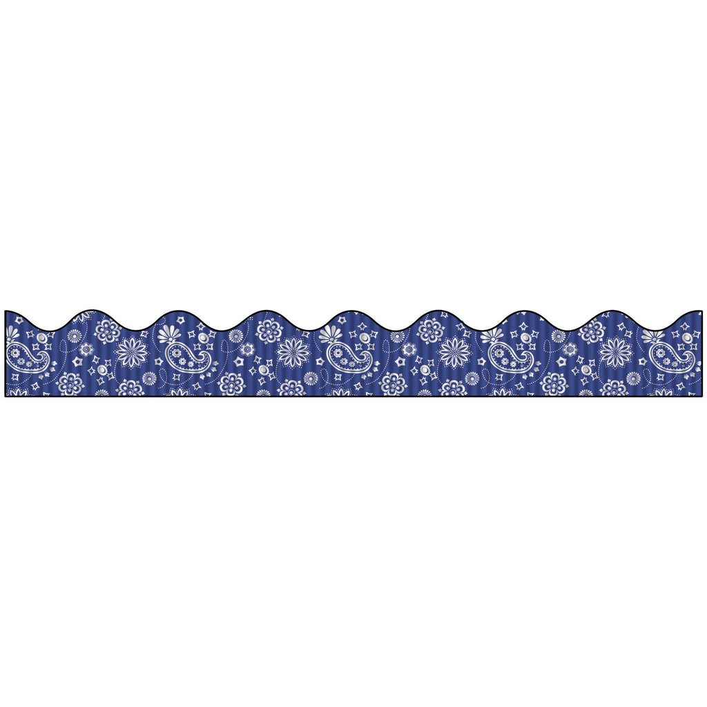 Pacon Bordette® Decorative Bulletin Board Borders, Bandana