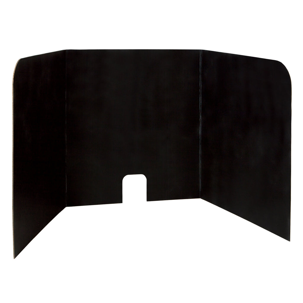 Pacon® Computer Lab Black Privacy Board, Set of 4
