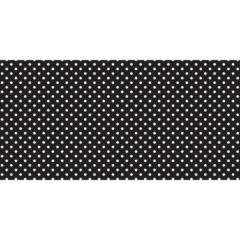 Pacon Fadeless® Classic Dots Black & White Paper Roll, 48″ x 50′