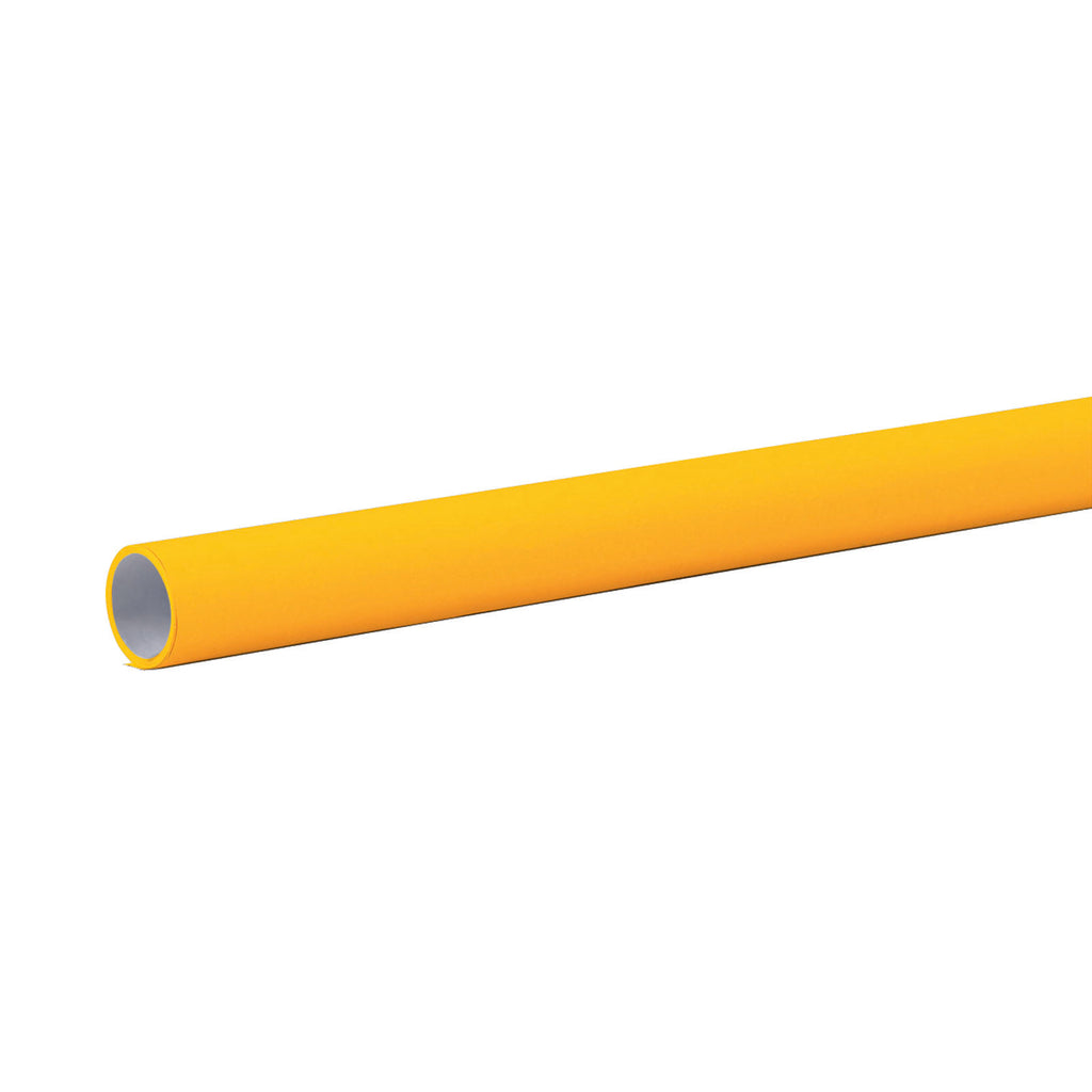 "Pacon Fadeless® Canary Yellow Paper, Four 48"" x 12' Rolls"