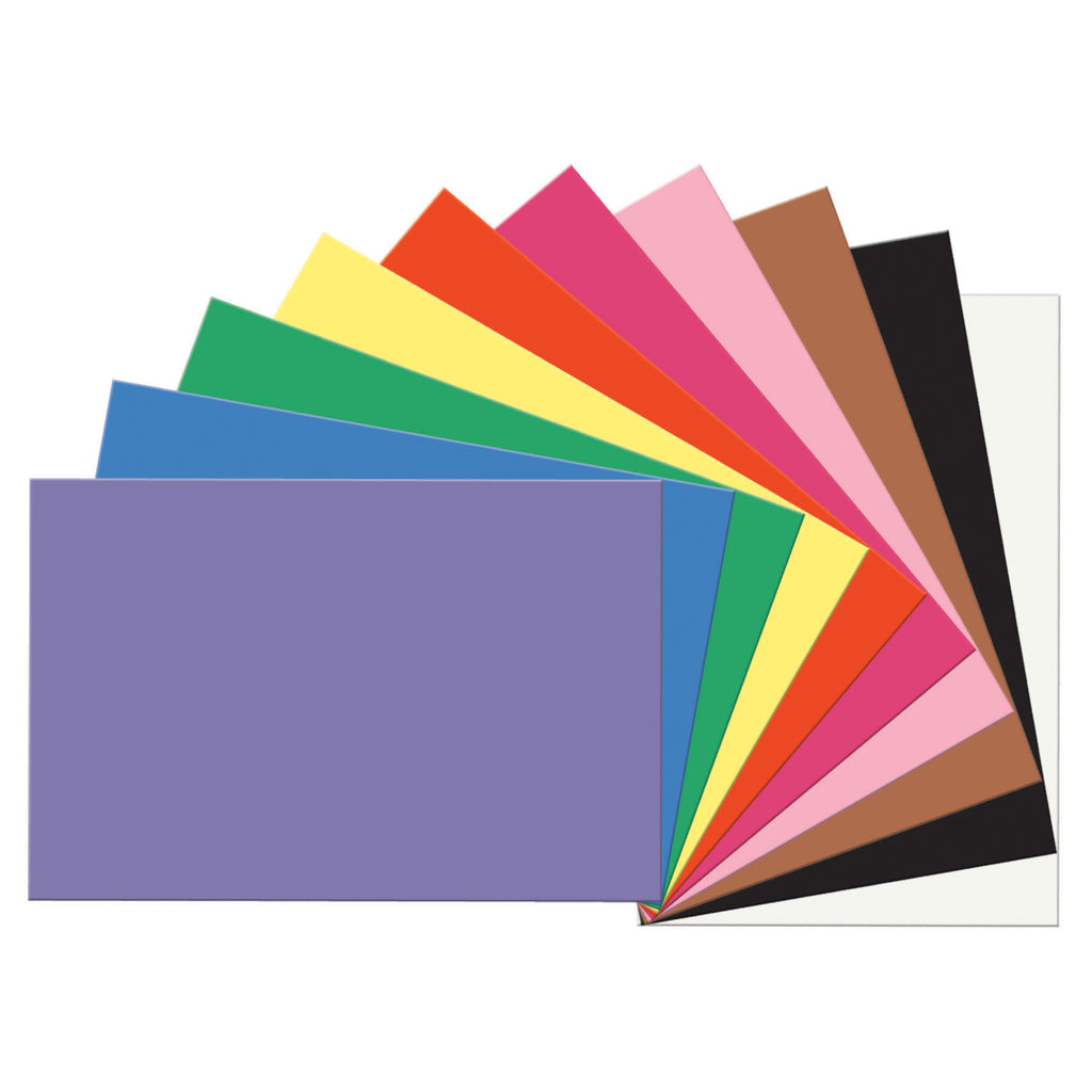 "Pacon SunWorks® Construction Paper, 12"" x 18"" Assorted"