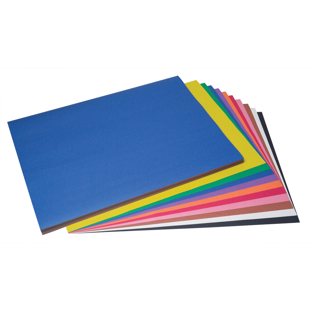"Pacon SunWorks® Construction Paper, 18"" x 24"" Assorted Colors"