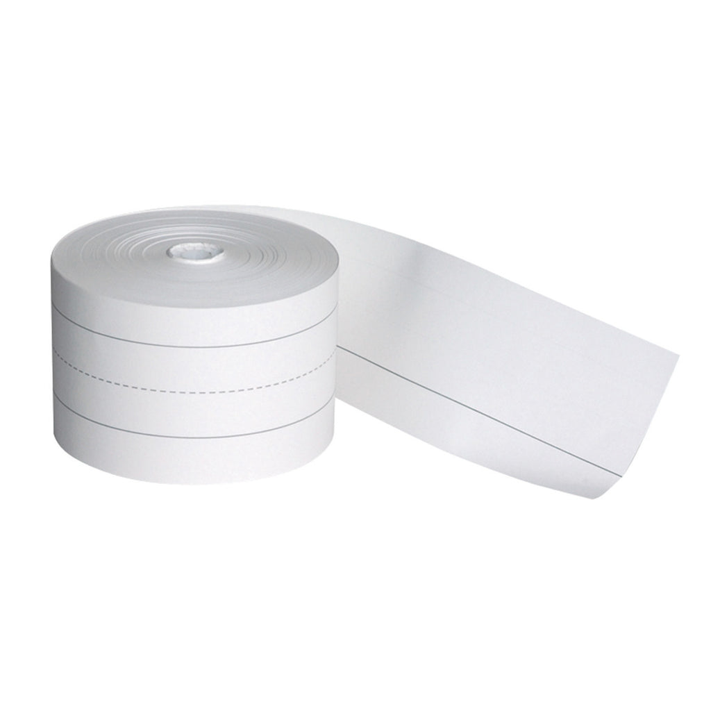 "Pacon Sentence Strip Rolls, 3"" x 200' White"