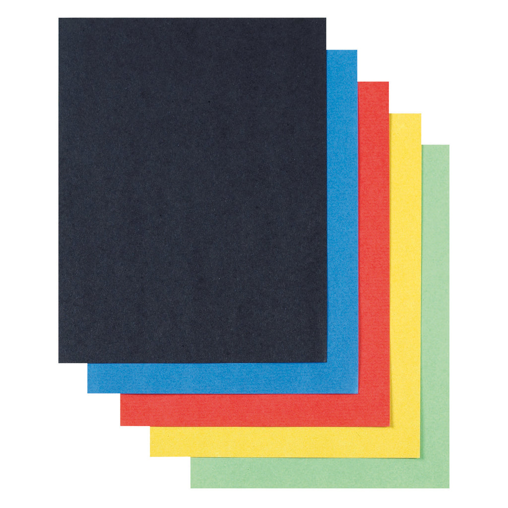Pacon Super Value Poster Board Assorted Colors 22 x 28, 50 Sheets