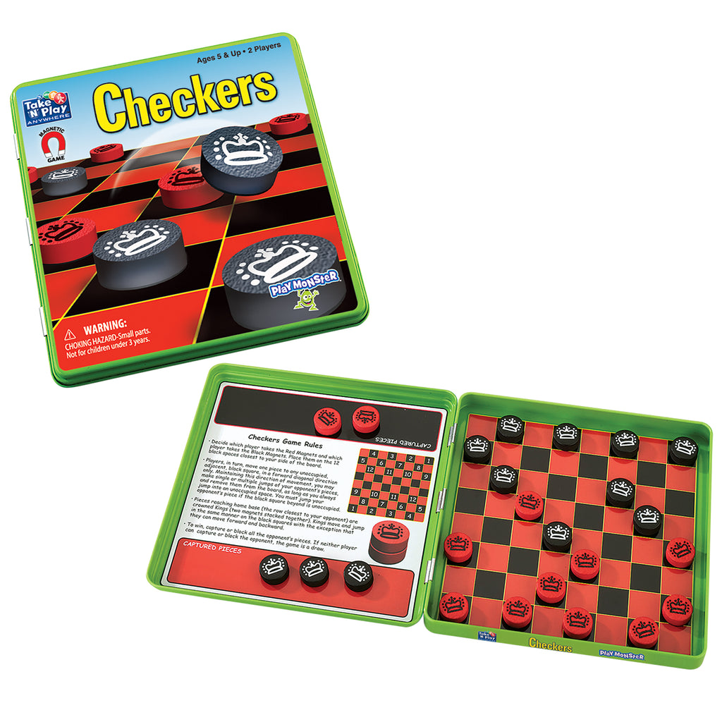 PlayMonster Take 'N' Play Anywhere™ Checkers