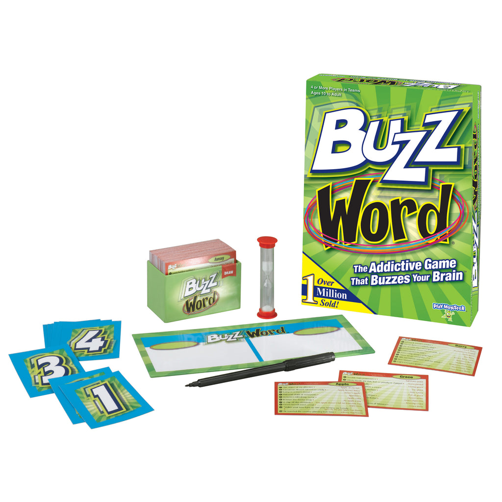 PlayMonster Buzzword®: The Addictive Game that Buzzes Your Brain