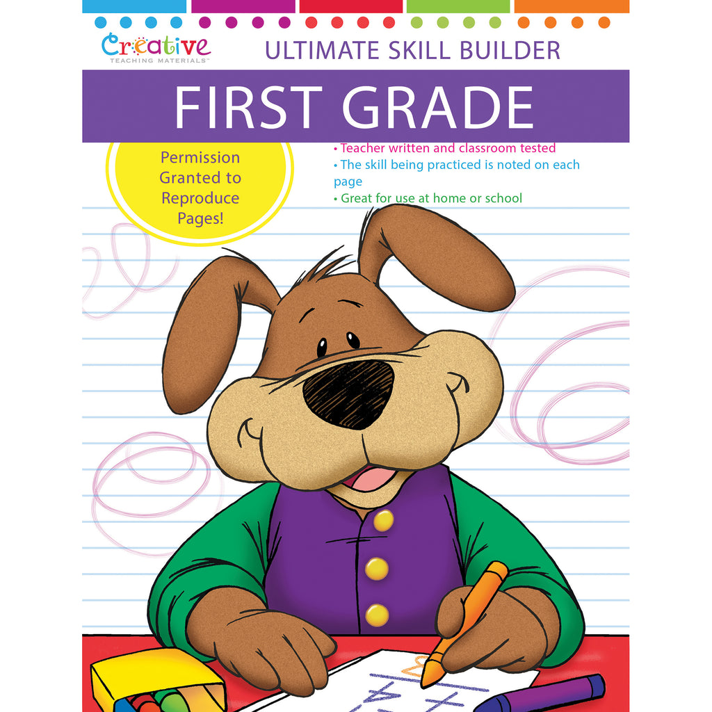 PBS Publishing Ultimate Skill Builders - First Grade