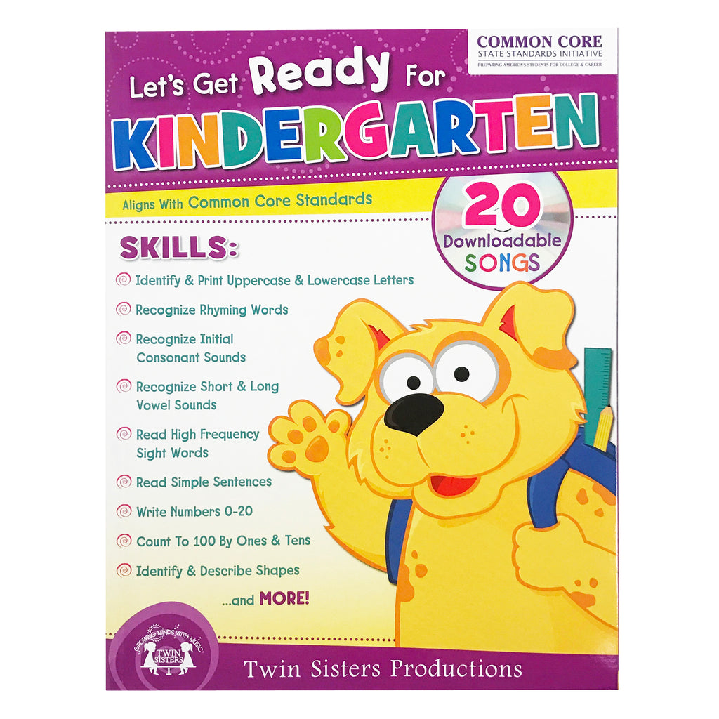 PBS Publishing Let's Get Ready for Kindergarten Workbook