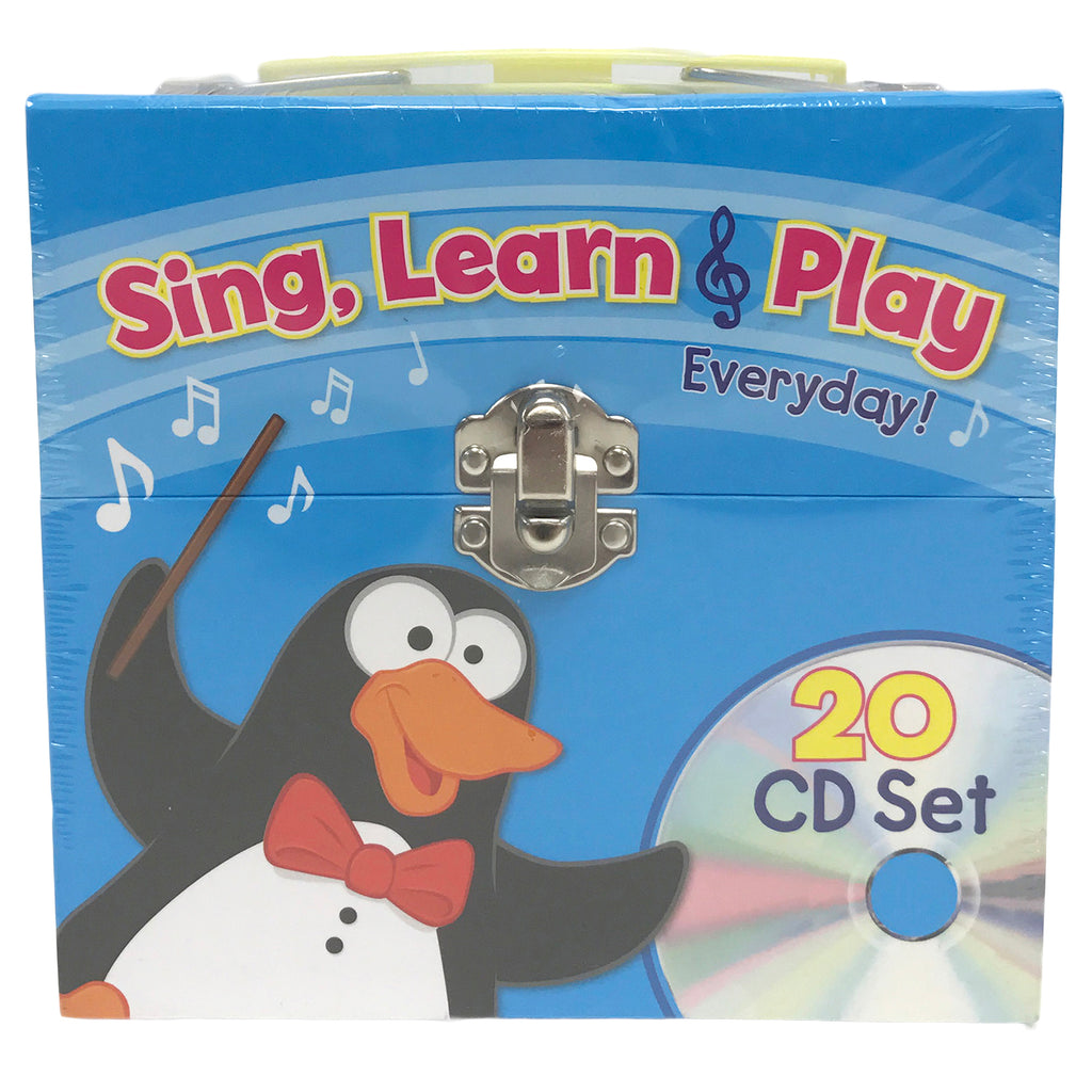 PBS Publishing Sing, Learn & Play Everyday CD Set
