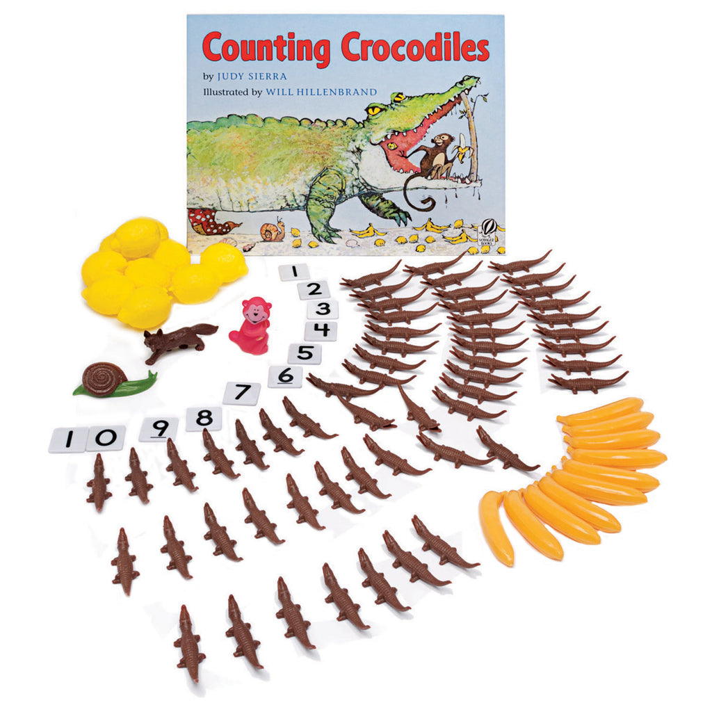 Primary Concepts Counting Crocodiles 3-D Storybook