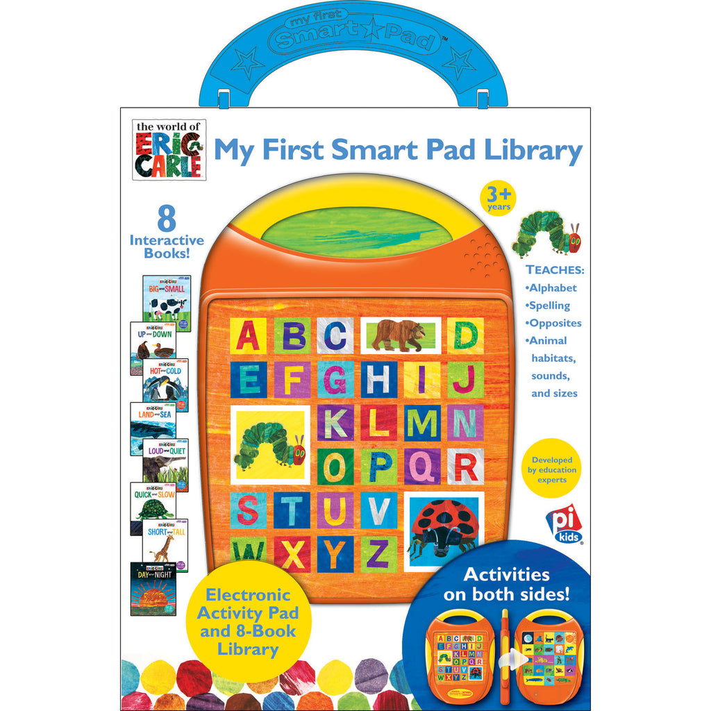 Publications International My First Smart Pad Box Set Eric Carle