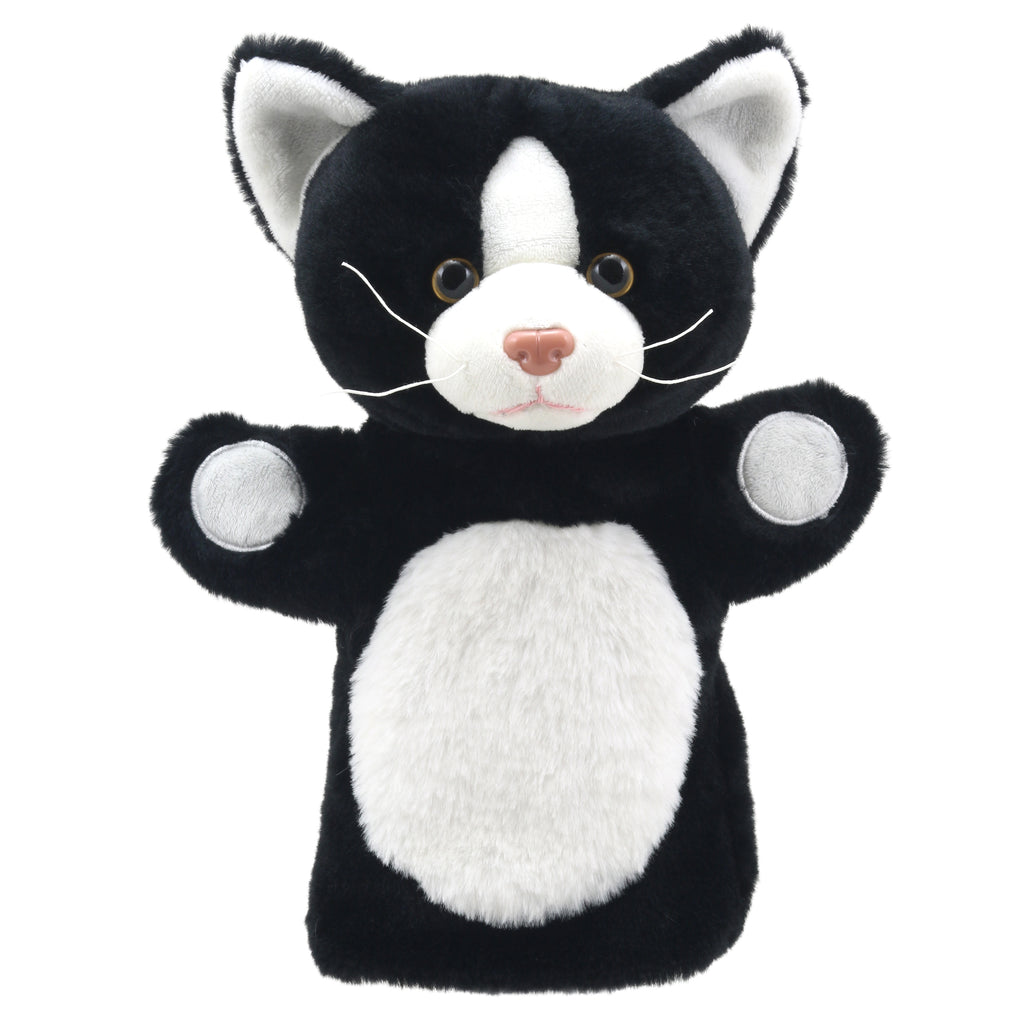 The Puppet Company Puppet Buddies: Cat (Black & White)