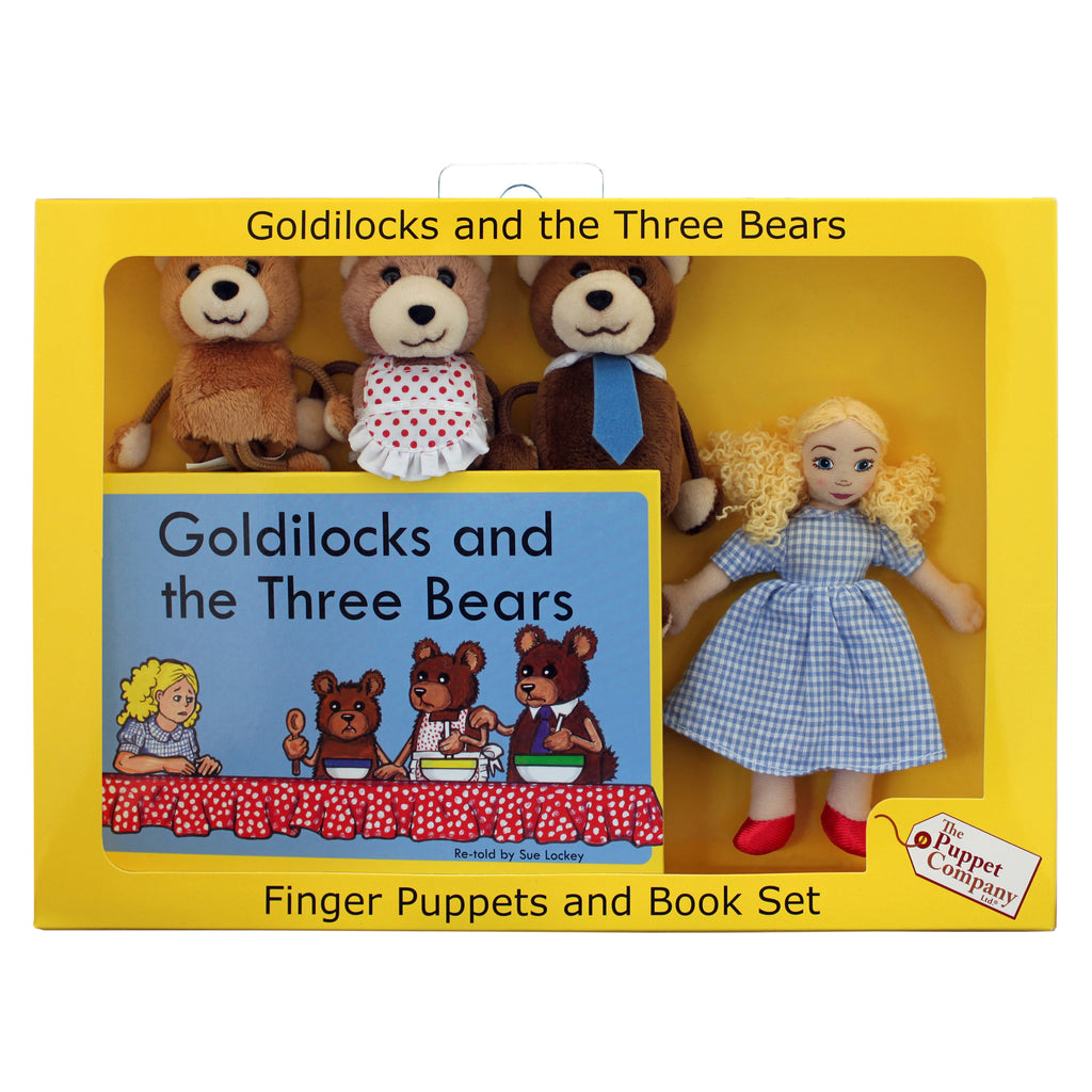 The Puppet Company Traditional Story Sets: Goldilocks & The Three Bears