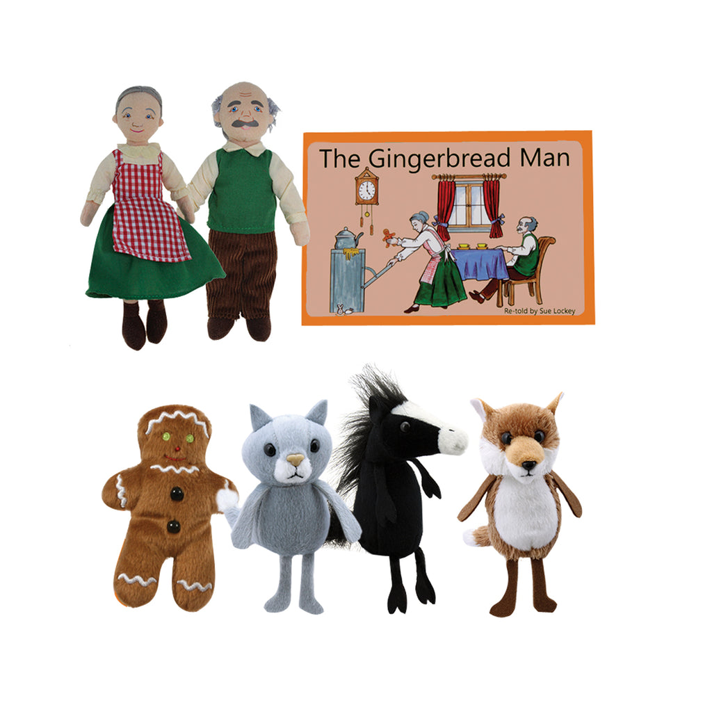 The Puppet Company Traditional Story Sets: The Gingerbread Man