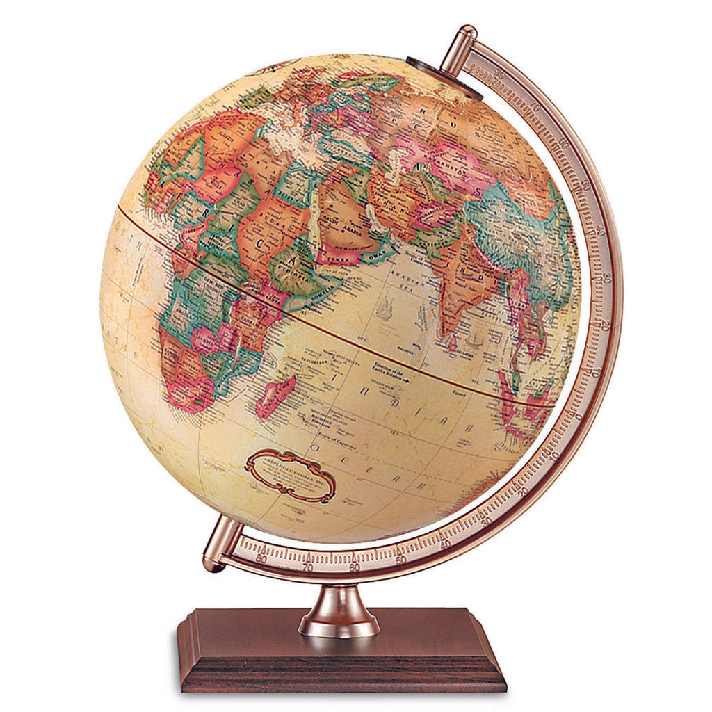 Replogle Globes The Forrester Globe Antique Finish