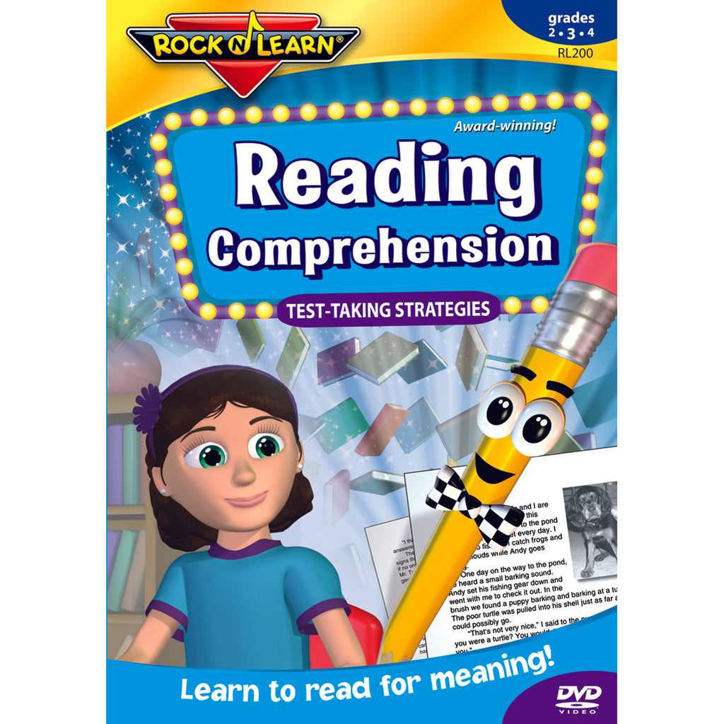 Rock 'N Learn Reading Comprehension Test Taking Strategies Gr 2-4
