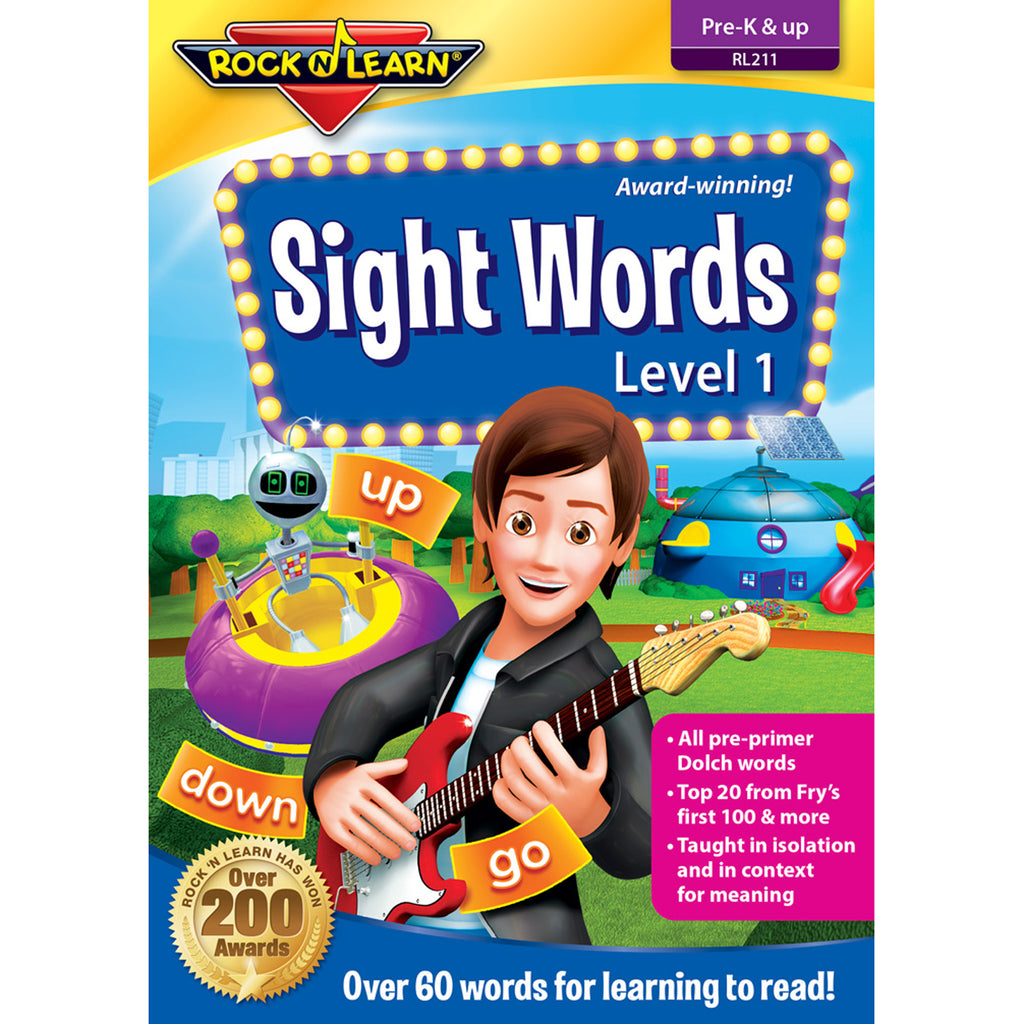 Rock 'N Learn Sight Words DVD