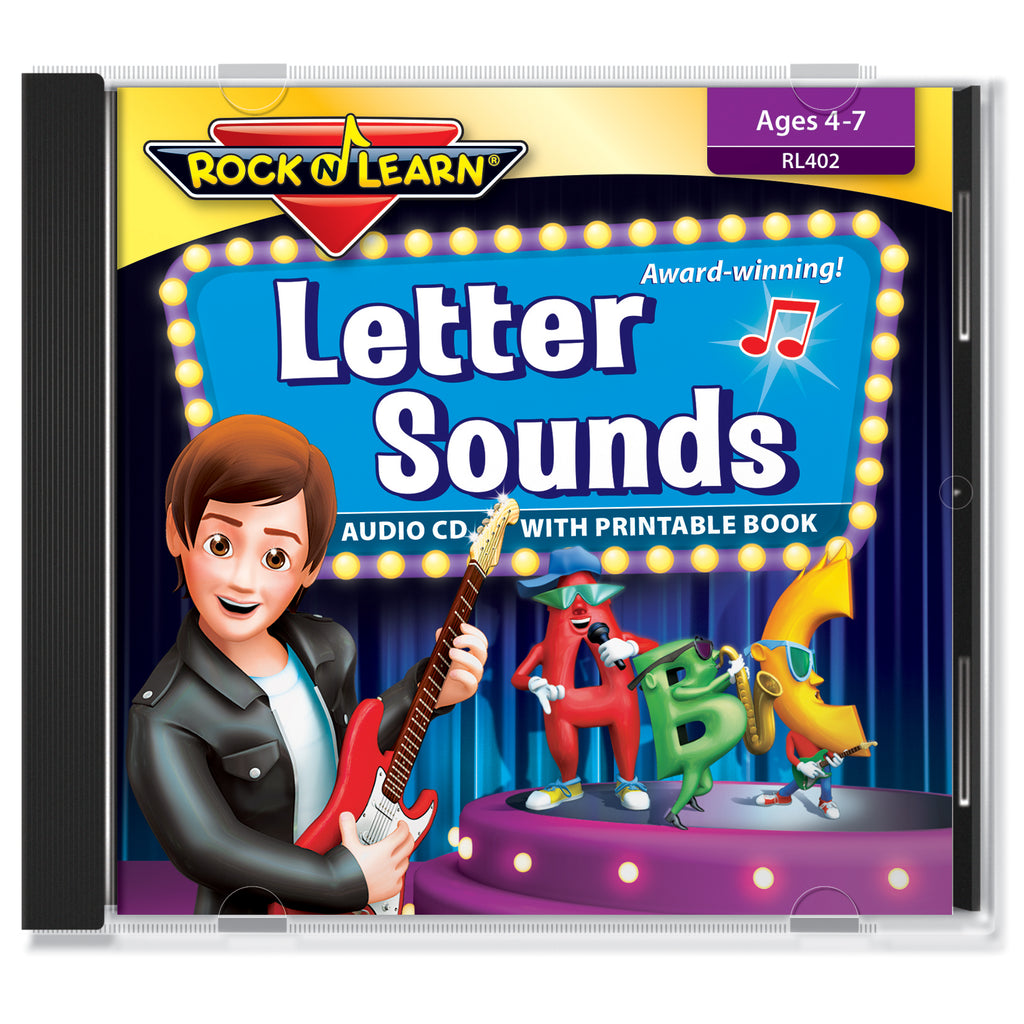 Rock 'N Learn Letter Sounds (audio & printable book)