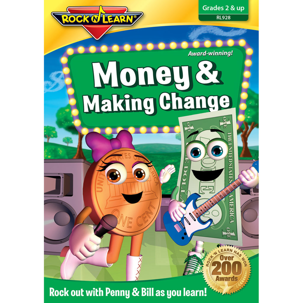 Rock 'N Learn Money & Making Change DVD