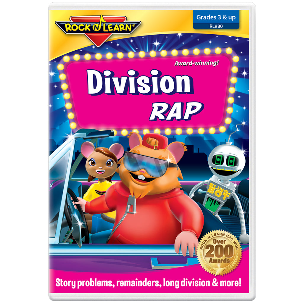 Rock 'N Learn Division Rad On DVD