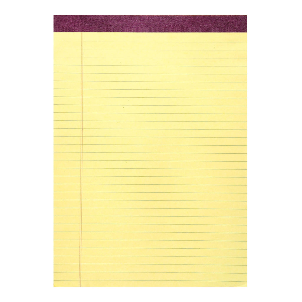 Roaring Spring Paper Products Standard Legal Pad, Canary