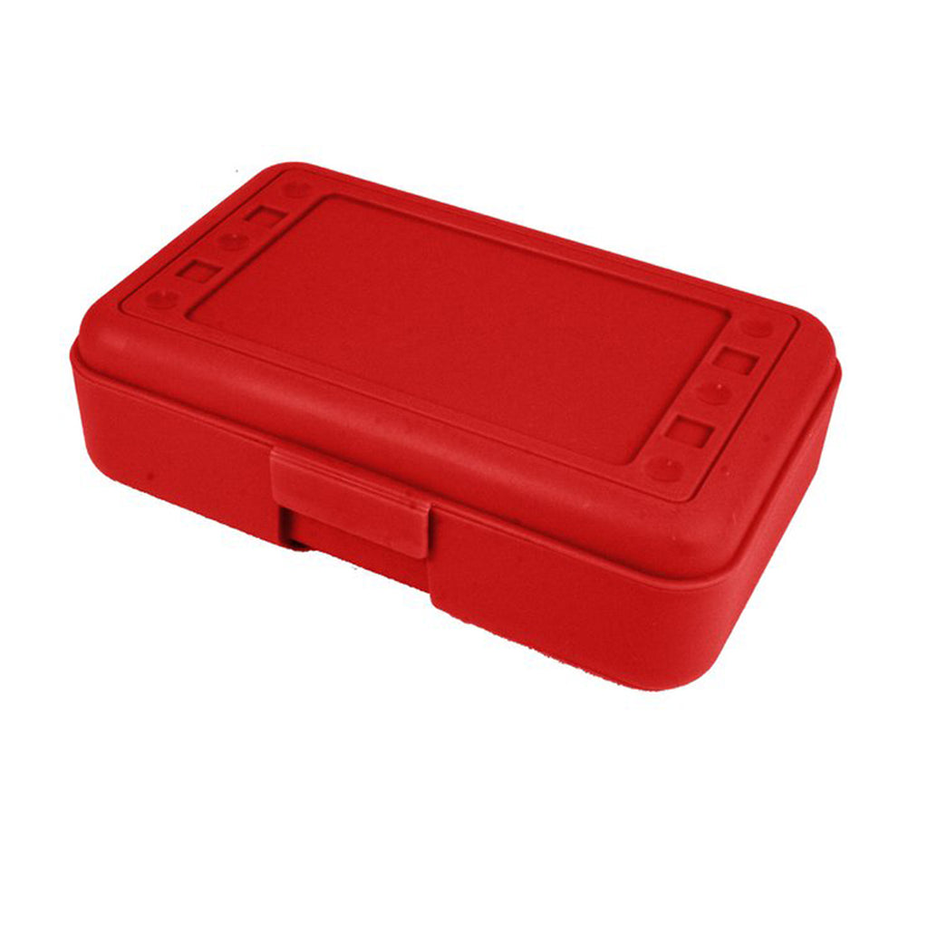 Romanoff Pencil Box Red
