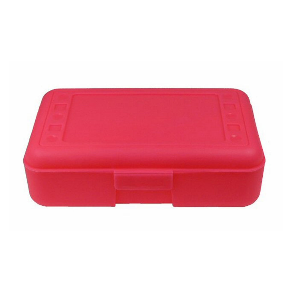 Romanoff Pencil Box, Hot Pink